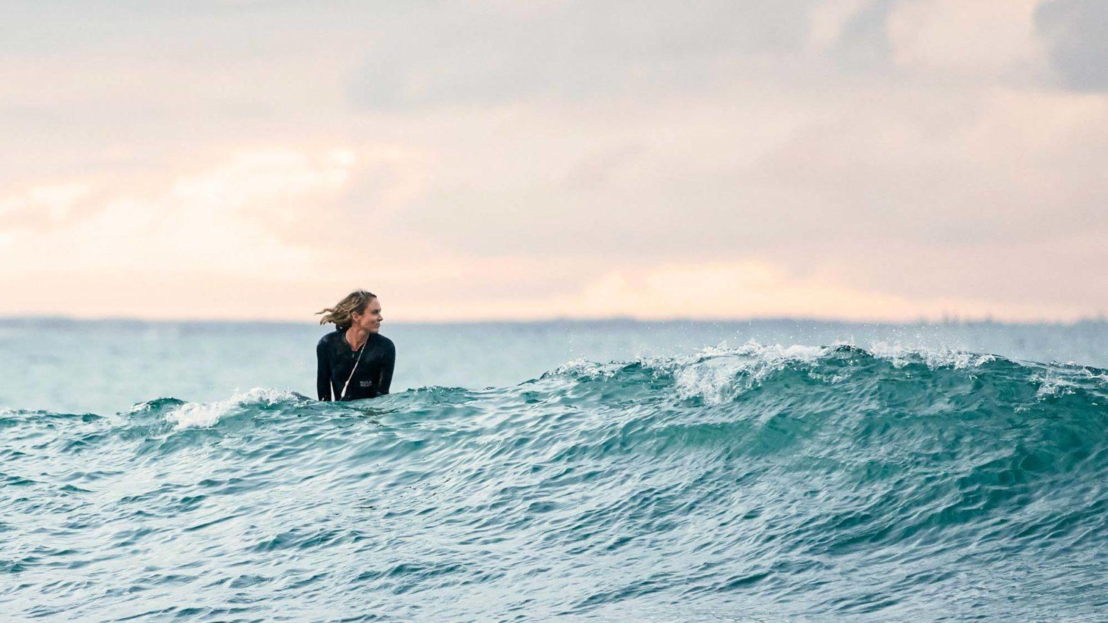 Jada surfing saltwater point barrington coast nsw