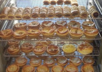 Hooked on Pies display