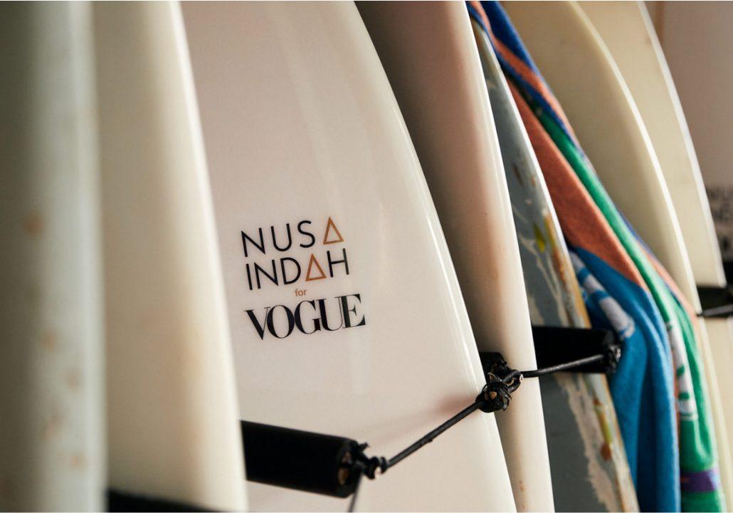 Nusa Indah for Vogue surfboards