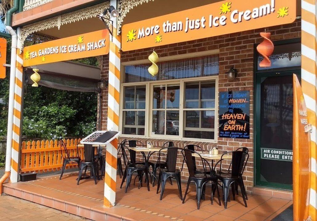 Tea Gardens Ice Cream Shack