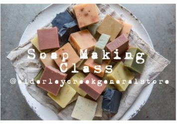 Soap Making Class in the Vines