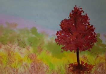 Watercolour Painting Workshop Country CraftTeas