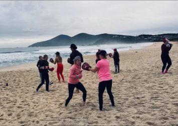 Forster Bootcamp on the Beach