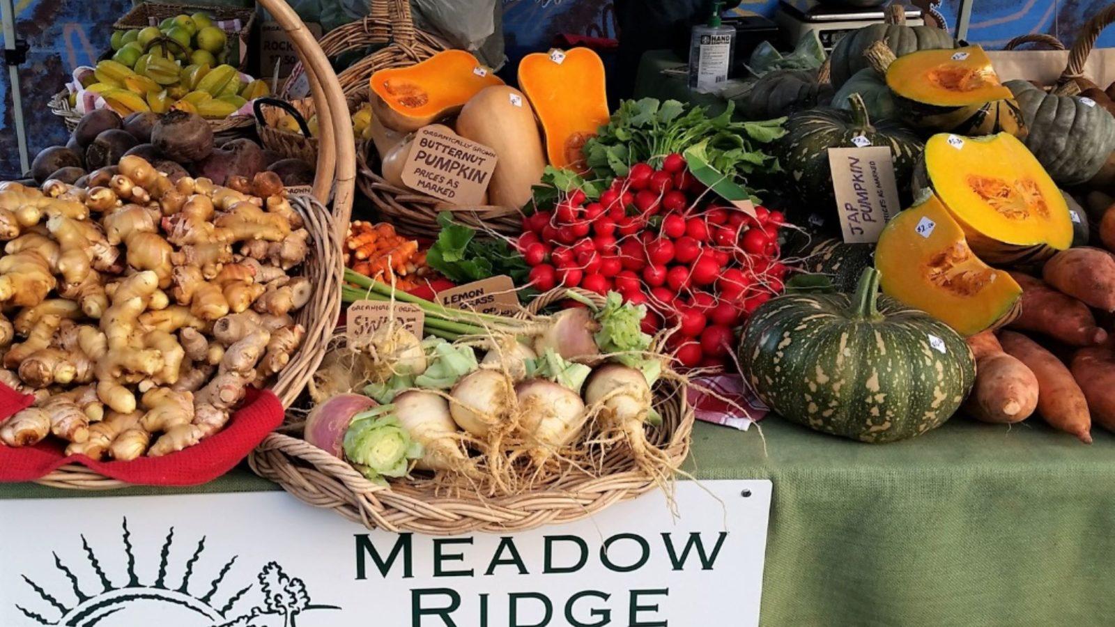 Forster Farmers Market fresh produce