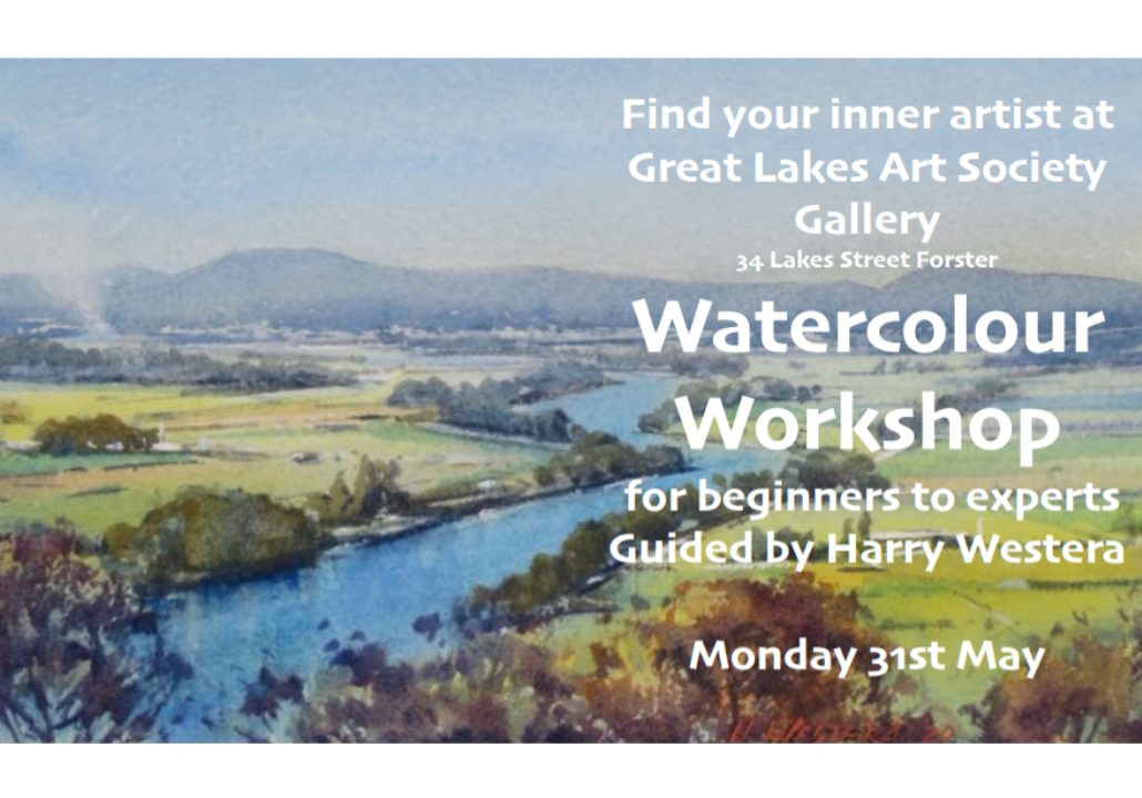 Watercolour Workshop with Harry Westera