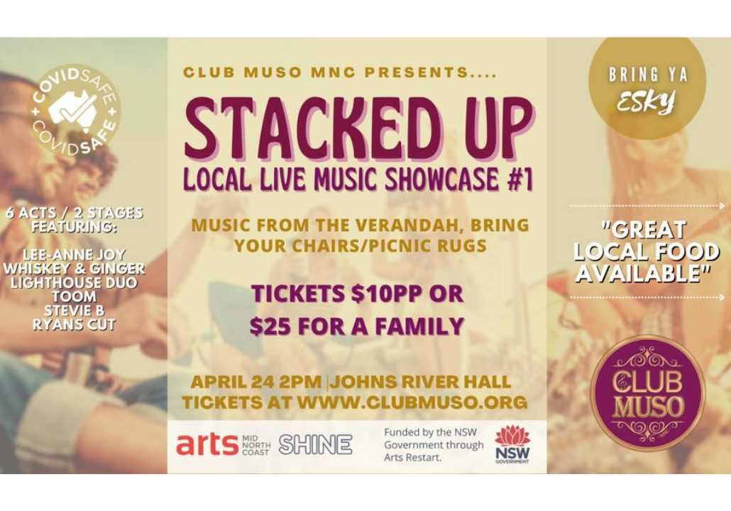Stacked Up - Live Local Music Showcase #1