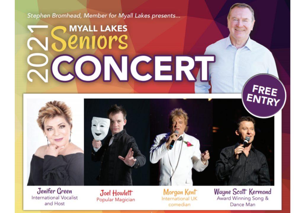 2021 Myall Lakes Seniors Concert