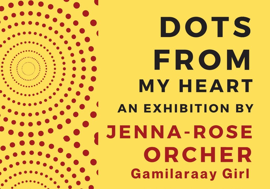 Dots From My Heart Exhibition