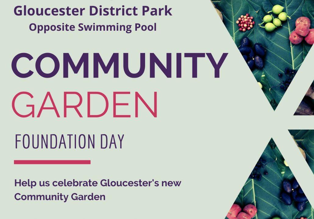 Gloucester Community Garden Foundation Day