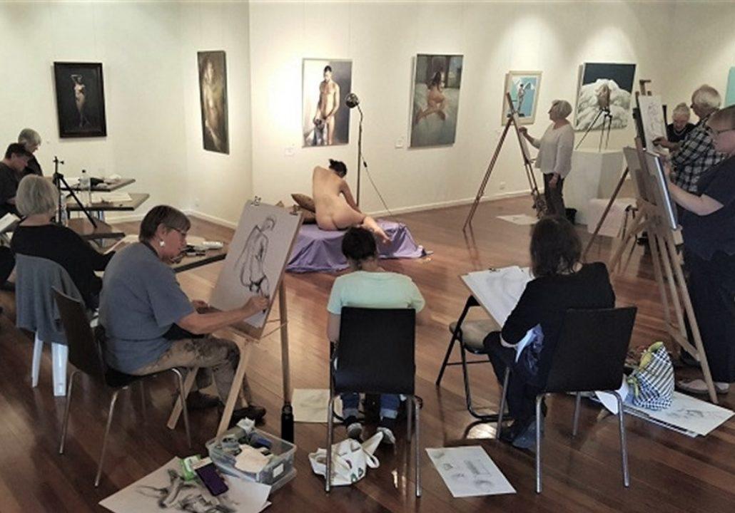 Life Drawing Studio - Manning Regional Art Gallery
