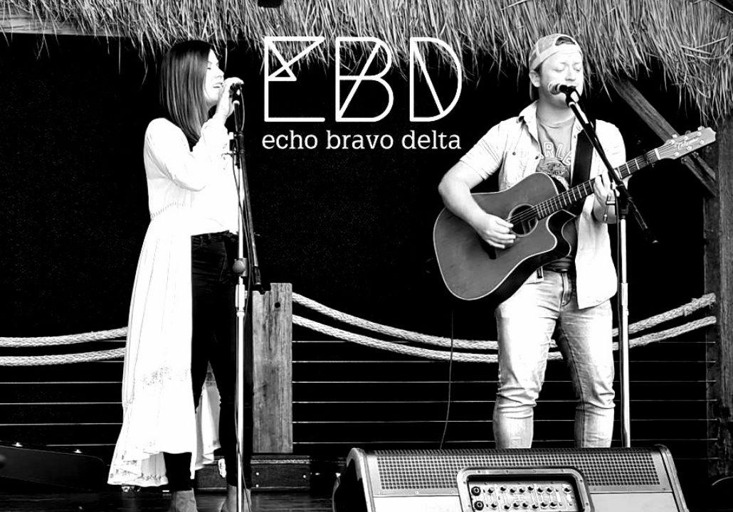 Echo Bravo Delta performing at Flow Bar