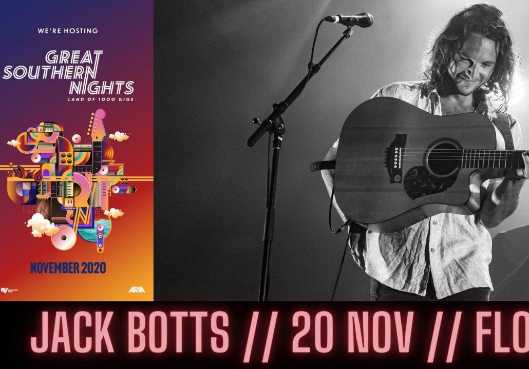Jack Botts performing at Flow Bar