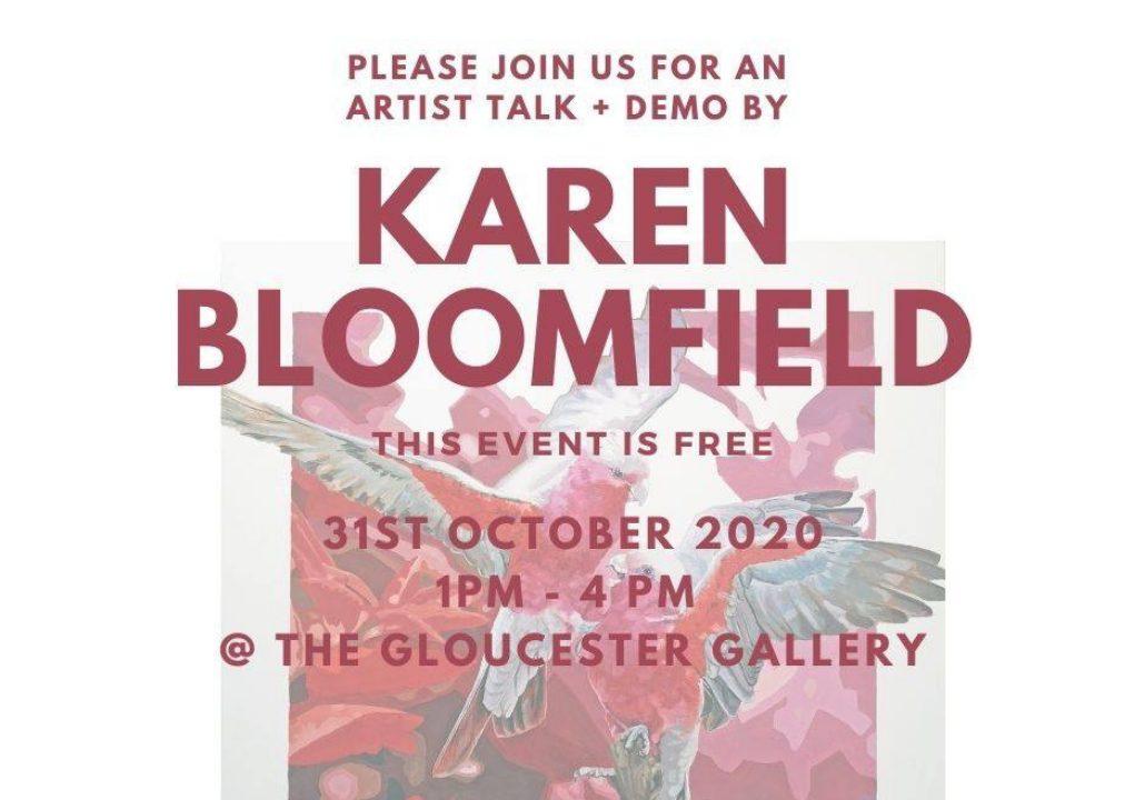 Karen Bloomfield Artist Talk