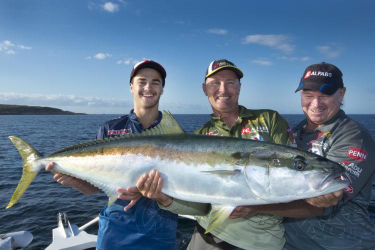 Broughton Island catch: kingfish