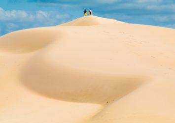 Dark Point Aboriginal Place sand dunes