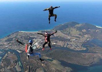 Skydiving NSW Drop Zone Taree
