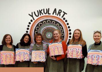 Yukul Art Studio -Paint and Sip class