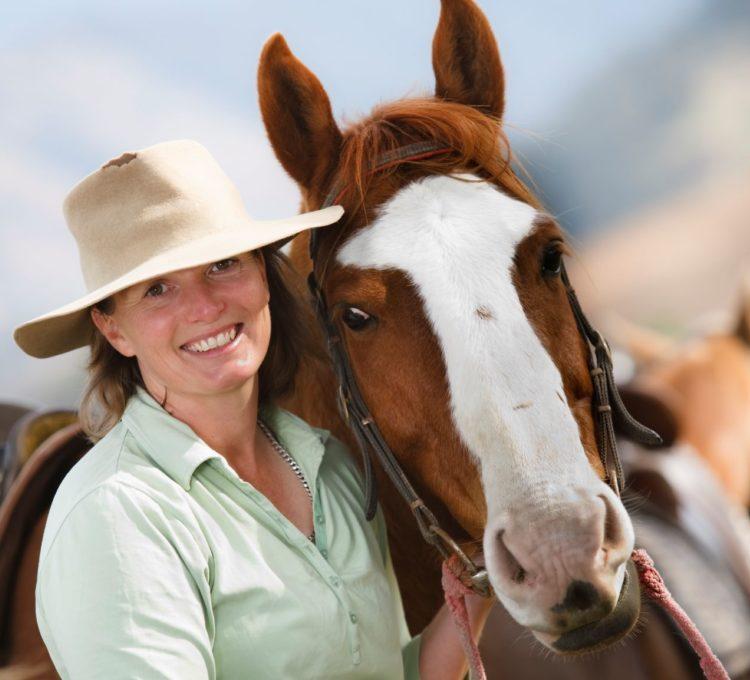 Horse riding at Camp Cobark