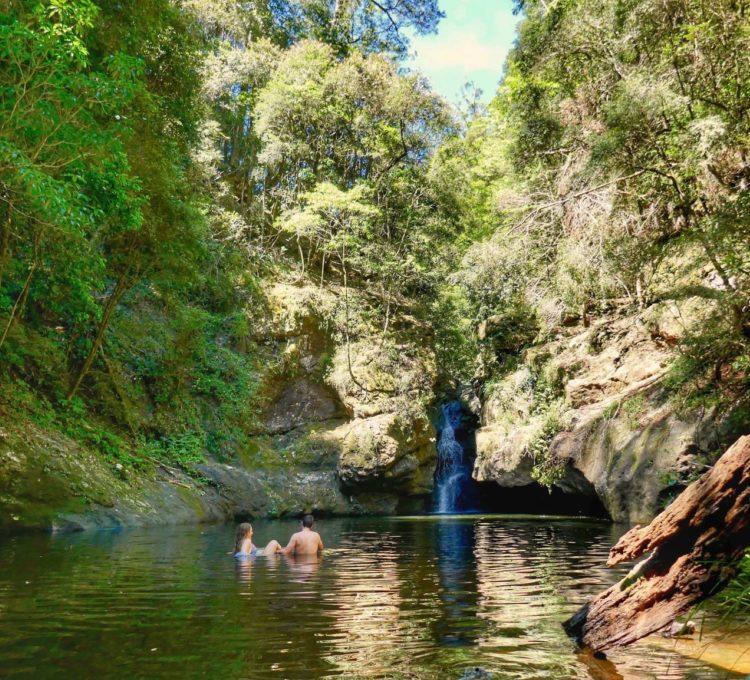 Potoroo Falls in Tapin Tops National Parks