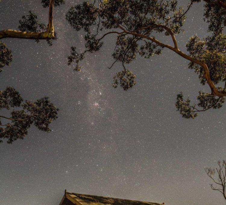 Under the stars at Tarbuck Bay