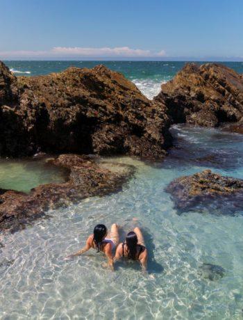 Burgess Beach, Forster rock pool