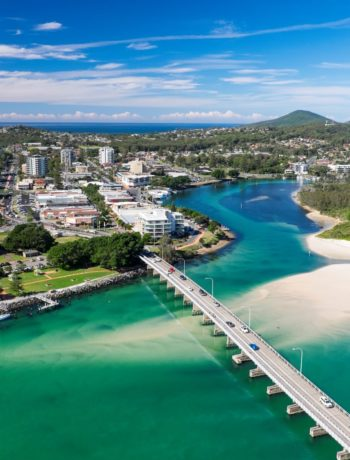 Forster and Tuncurry aerial