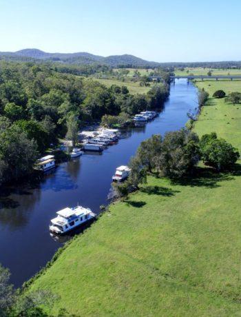 Myall River, Bulahdelah aerial