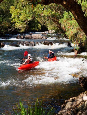 Best riverside camping in the Barrington Coast