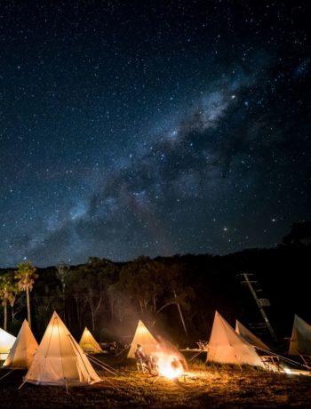 Simple Pleasures Camping at Blueys Beach
