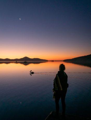 Wallis Lake sunset