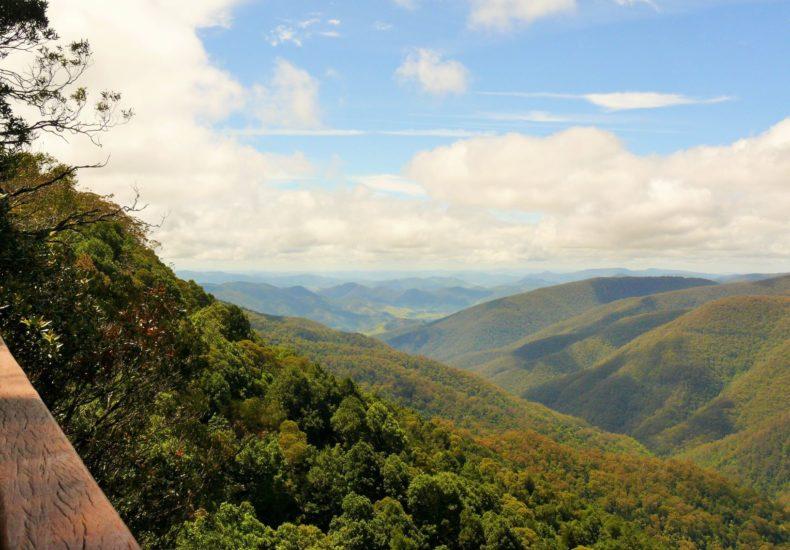 Devils Hole Lookout, Barrington Tops views