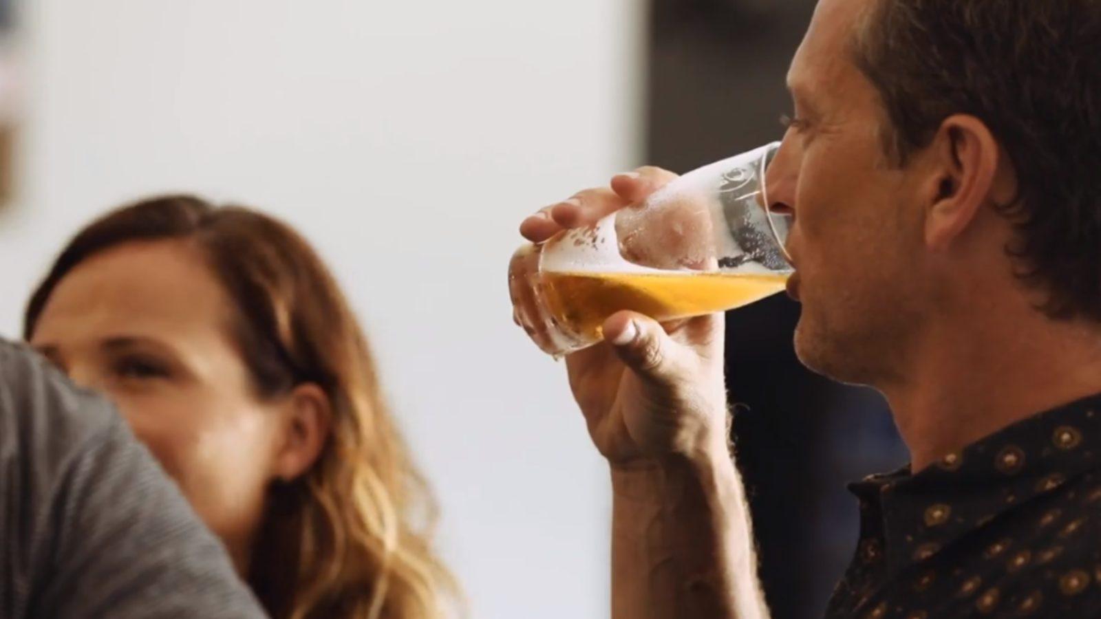 Coastal Brewing Co beer drinker