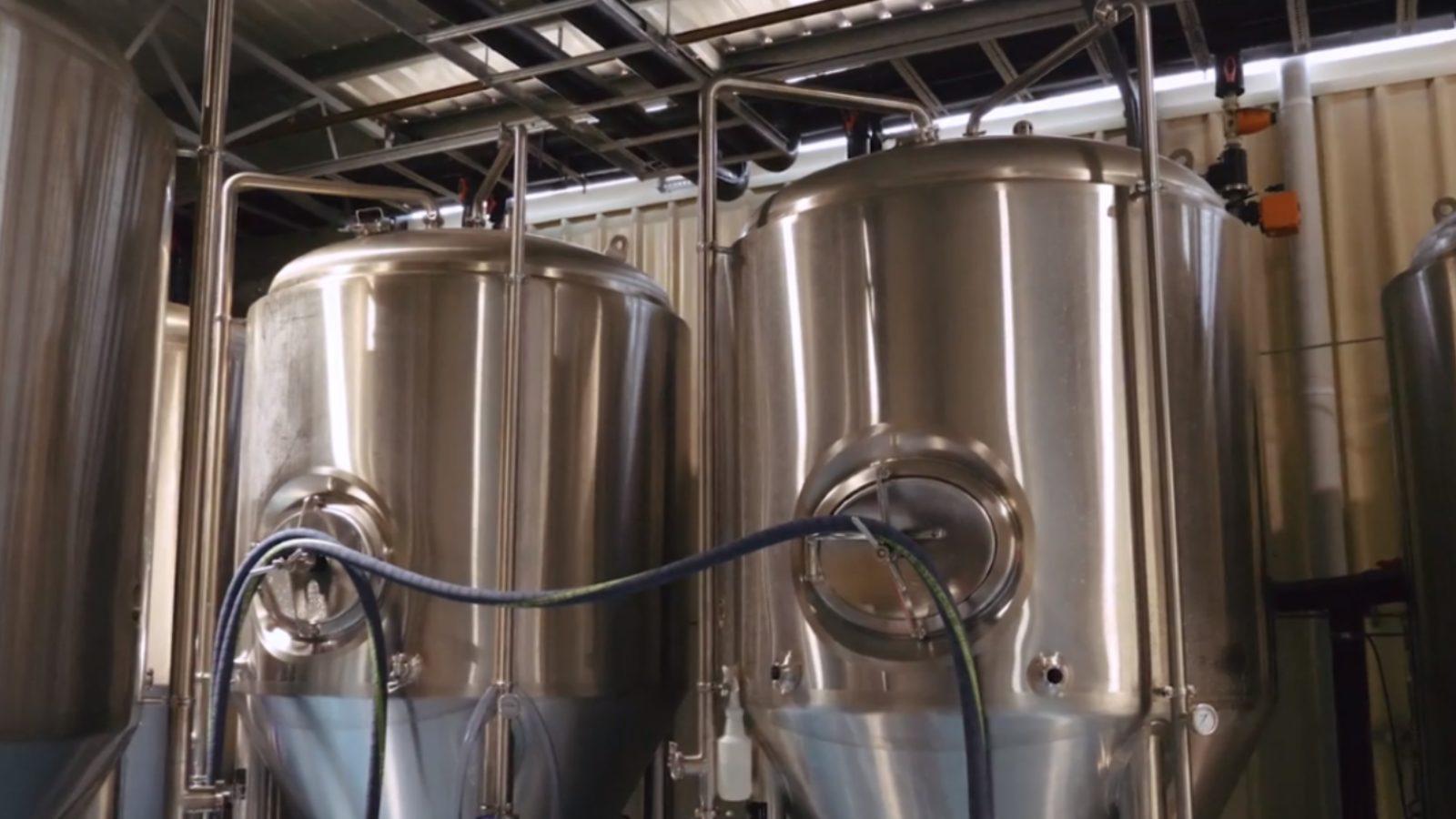 Coastal Brewing Co brewing equipment
