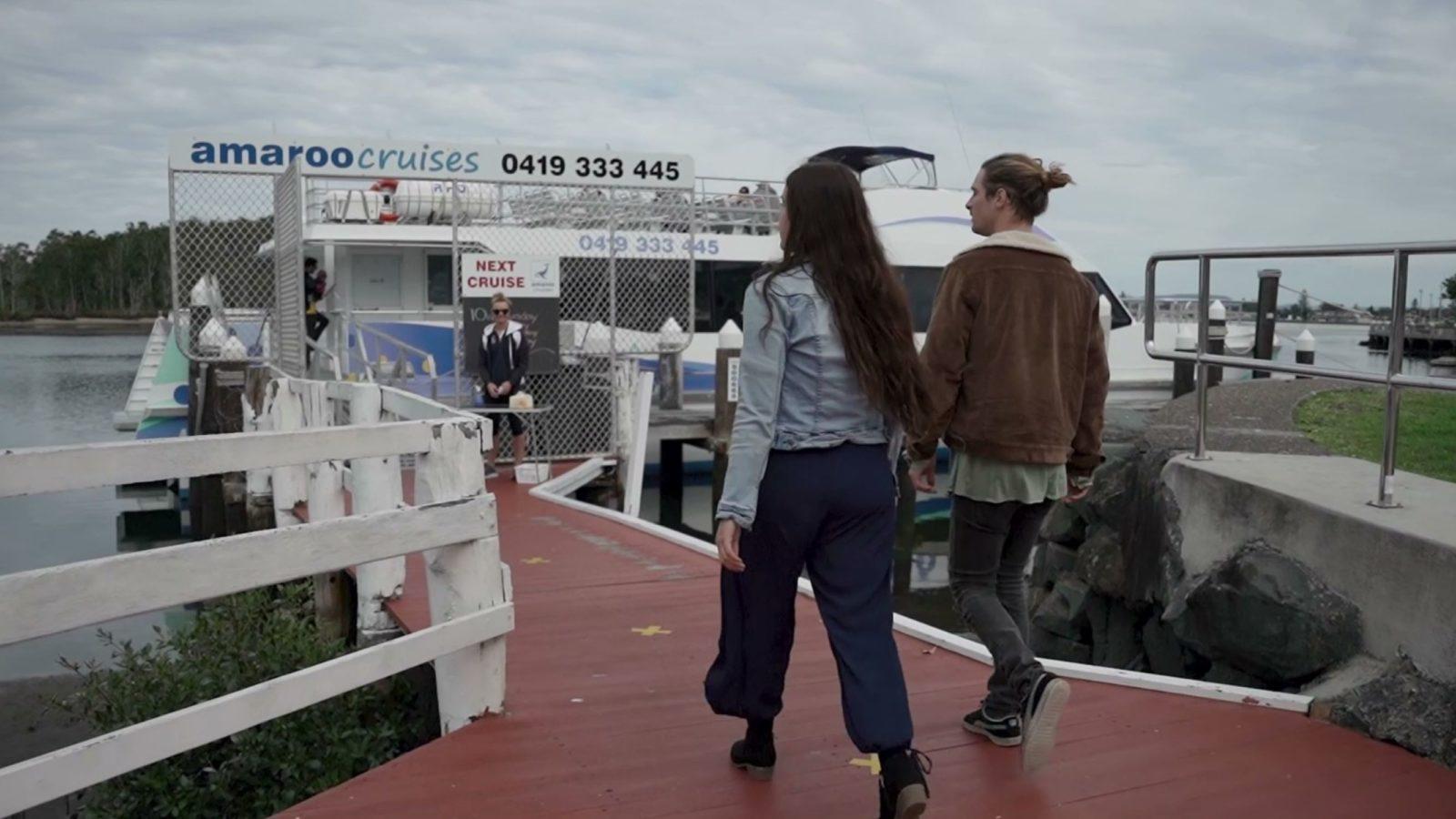Amaroo Cruises dock