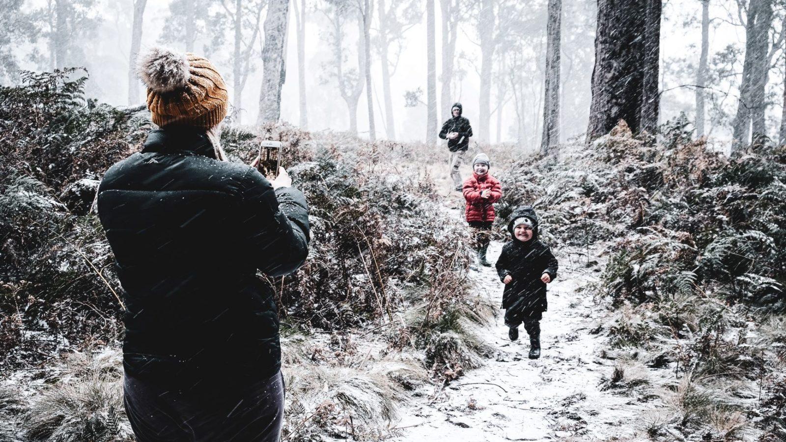 Barrington Tops snow day