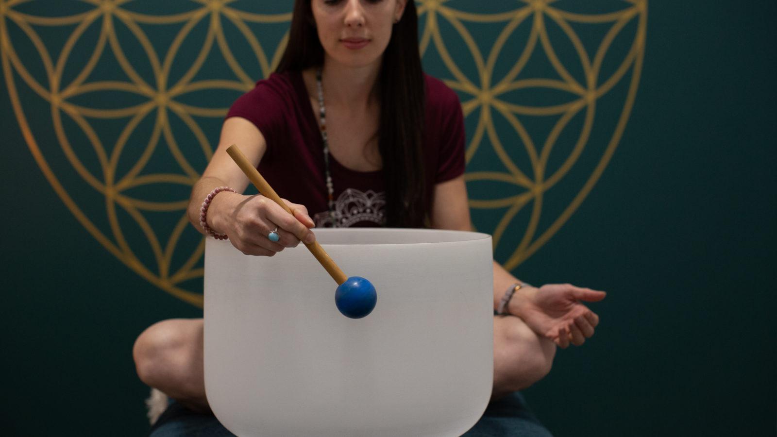 Forster Yoga Studio glass bell