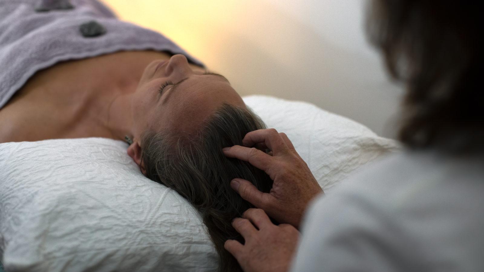 Forster Yoga Studio head massage