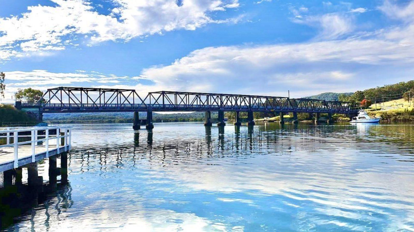 Karuah River and bridge by moonshadowtqc