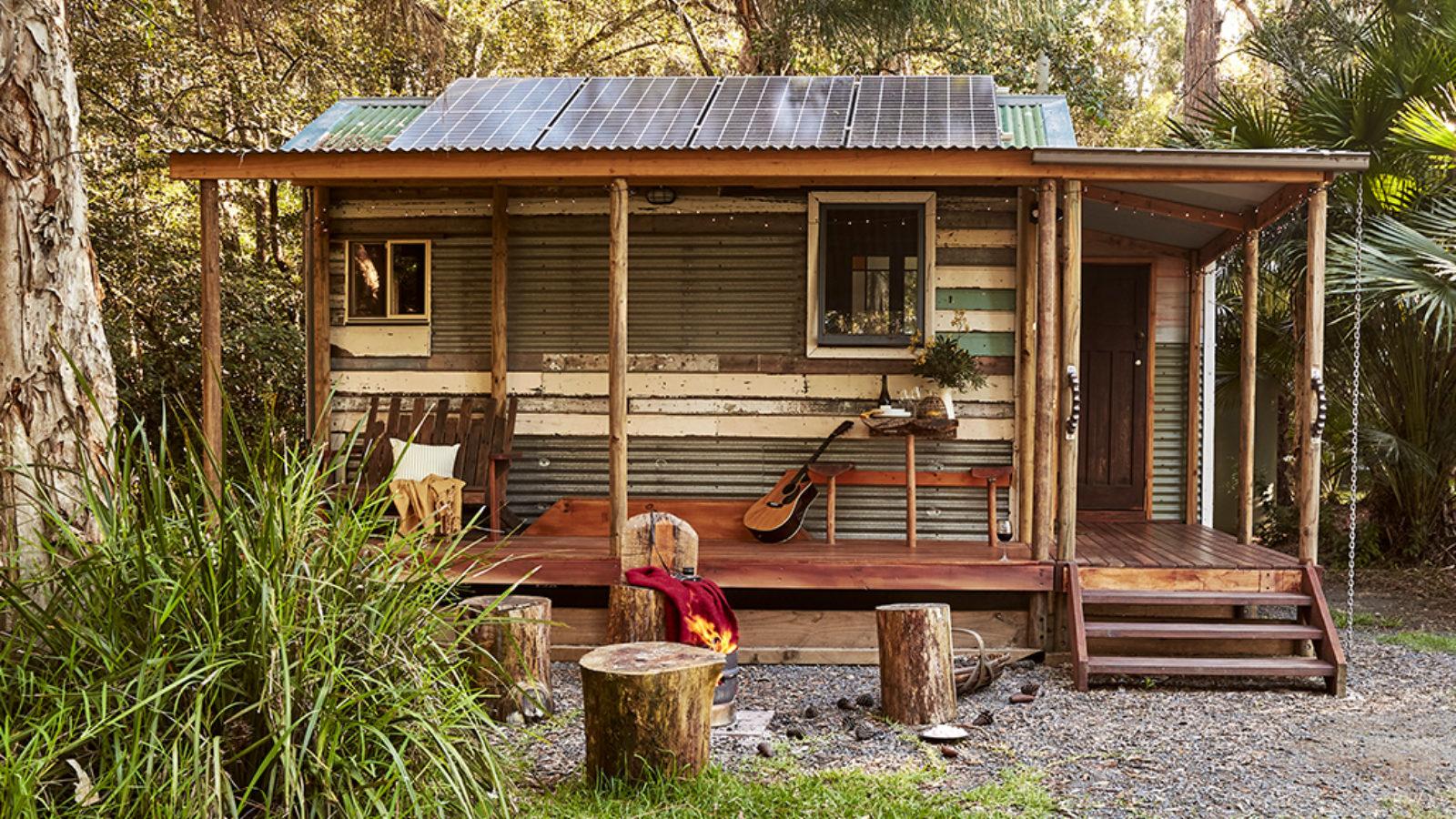 Myall River Camp tiny house exterior