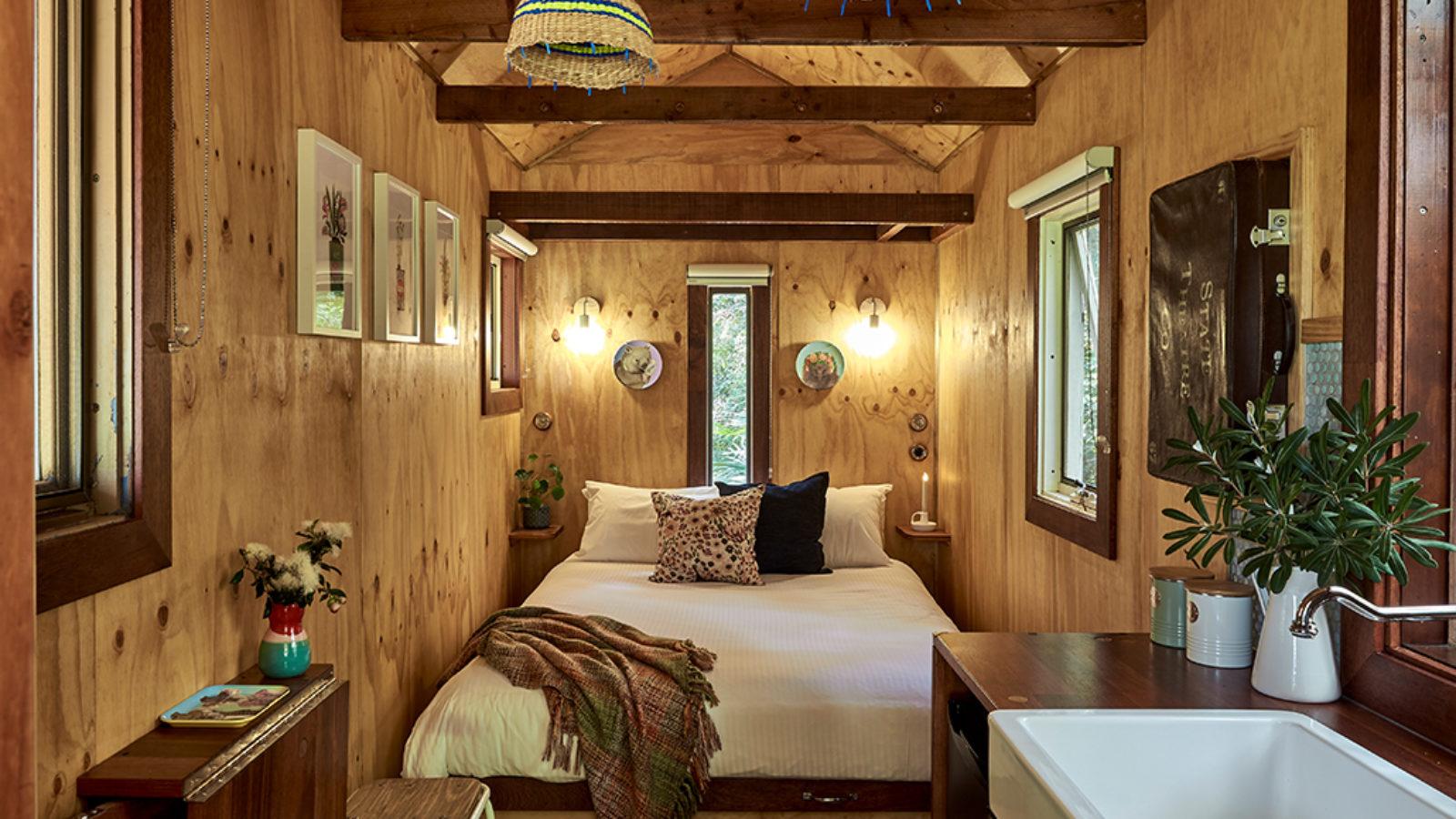 Myall River Camp tiny house interior