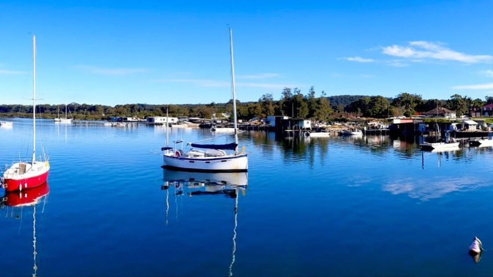 Port Stephens at Karuah by Moonshadow TQC Cruises