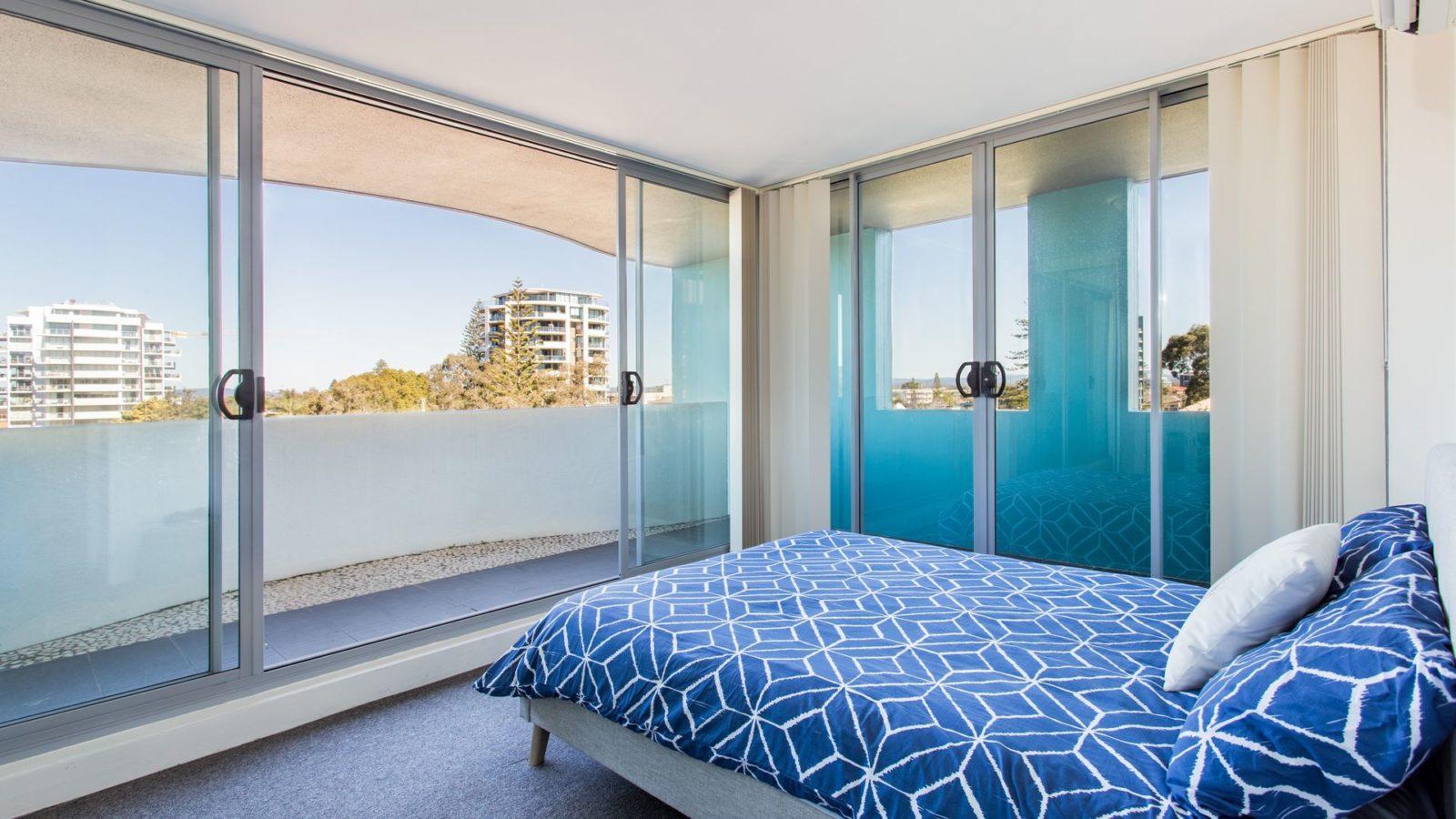Shores 303 main bedroom