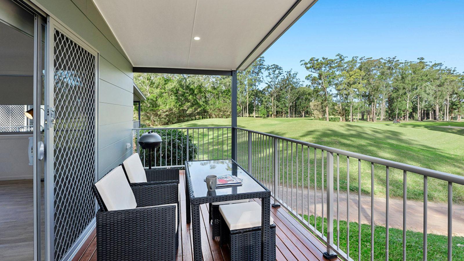Tallwoods balcony view