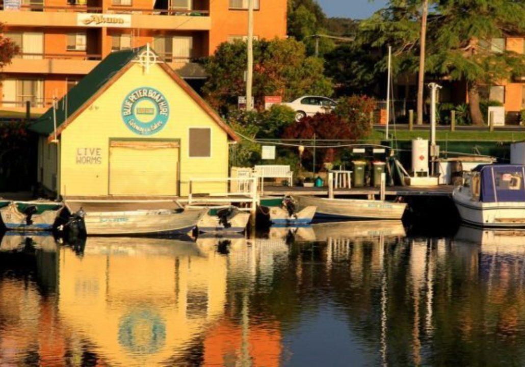 Blue Peter Boatshed