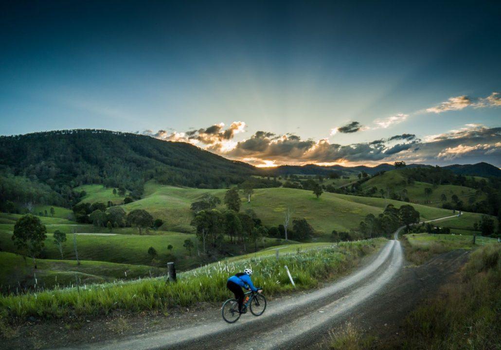 Barrington Tops gravel grinding, off road bike riding