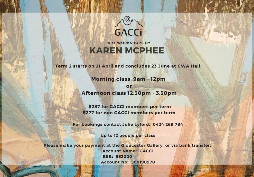 Karen McPhee Art Workshops
