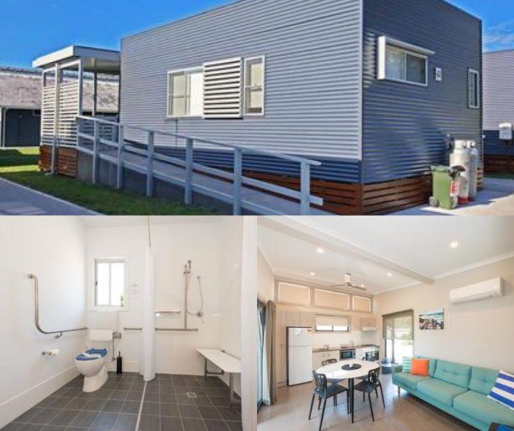 Big4 Colonial Holiday Park Harrington accessible accommodation barrington coast nsw