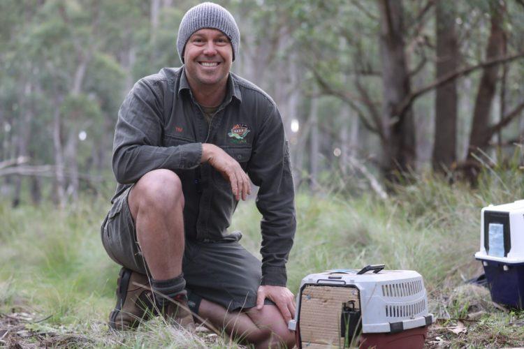 Aussie Ark President Tim Faulkner
