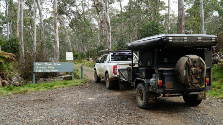 The start of the Barrington Trail - Image Tyler Thompson