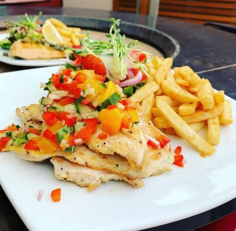 Chicken Stack from the Bistro